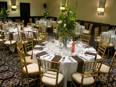 Gold Chivari Chairs - Guoman Hotels